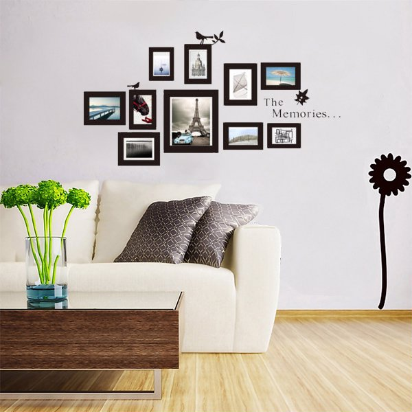 10-delige Sticker Foto Frame Set
