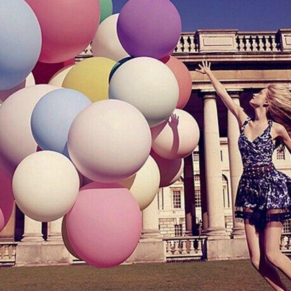 10x Giant Chérie reuze ballonnen