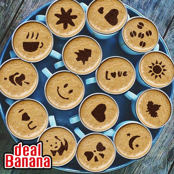16 Cappuccino Stencils