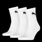 Puma sokken Sport wit 3-pack