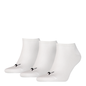Puma sokken Sneaker wit 3-pack