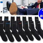 7 Days Socks - 7 paar zwarte heren sokken