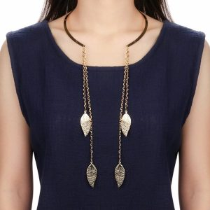 Collar Leaves Necklace