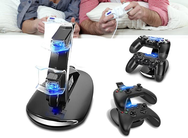 Controller Oplaad Dock - voor de Xbox One of Playstation 4