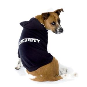 Dog Security hoody