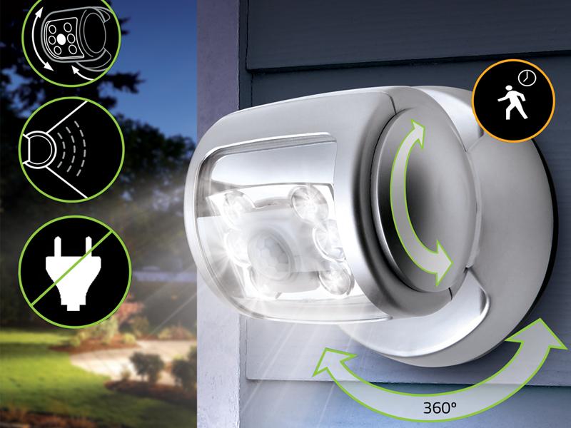 Draadloze LED Buitenlamp Met Bewegingssensor