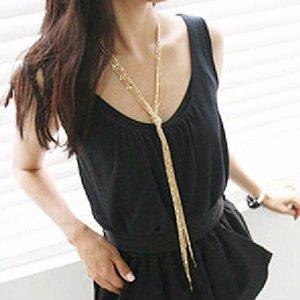 Golden Tassel Necklace