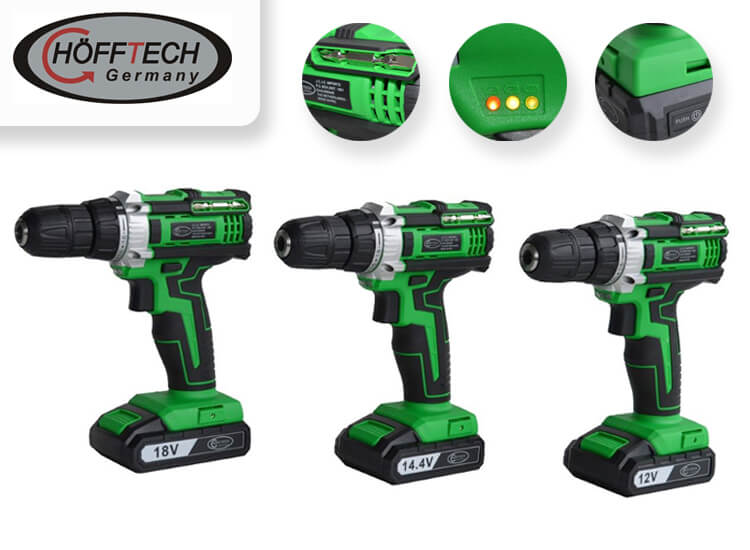 Höfftech Accuboormachine - keuze uit 3 modellen