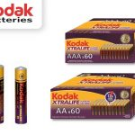 Kodak Alkaline Xtralife batterijen - 60 stuks