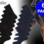 Apollo Anti-press sokken; helpt bij een verstoorde bloedsomloop - 6 Paar