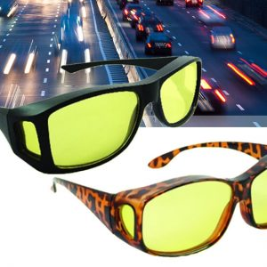 Benson Night Vision bril - Geeft je helder zicht in het donker