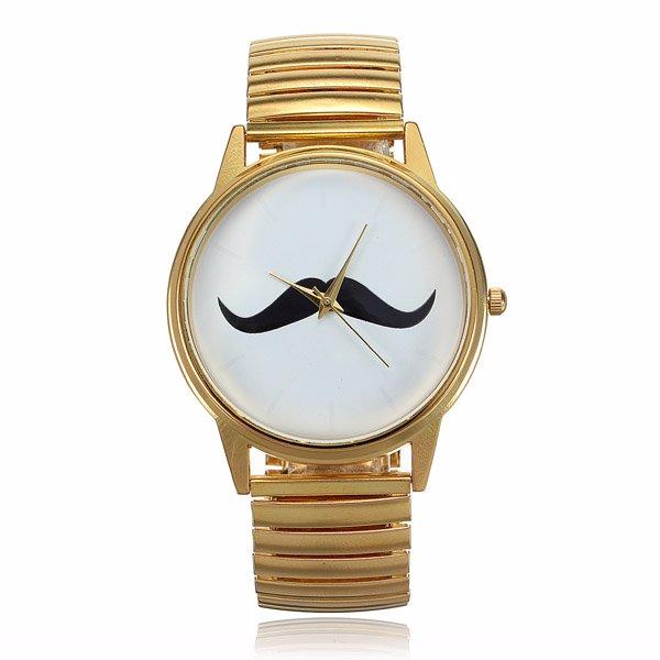 Hip(ster) snor horloge