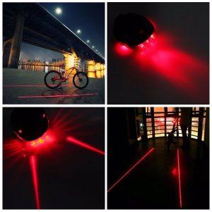 Laser Fietsverlichting met LED