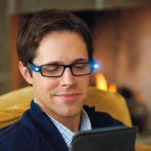 Leesbril met LED-verlichting
