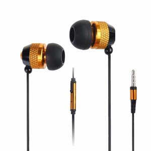 In-ear metalen oordopjes