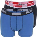 Puma boxershort duo-verpakking marine-blue NOS