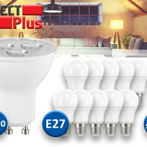 Select Plus LED Lampen - 10 Stuks - E27 of GU10