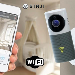 Sinji Smart Wifi security camera met night vision
