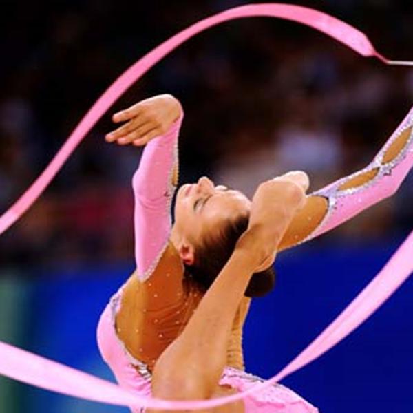 Ritmische gymnastiek lint