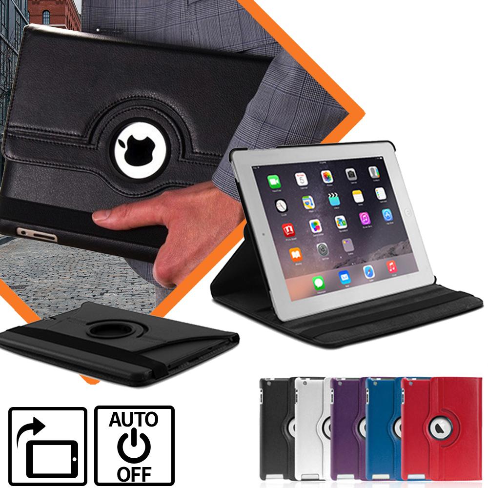 Avanca Roterende iPad Beschermhoes - Optimale bescherming-White-iPad Pro 9.7 inch