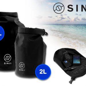 Sinji Dry Bag - De perfecte tas om je spullen droog te houden - IPX6 waterproof