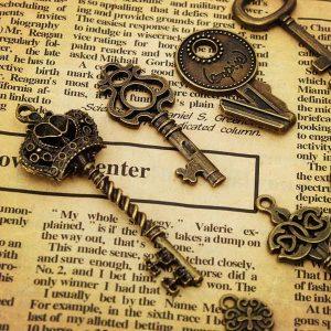 14 Vintage Sleutels
