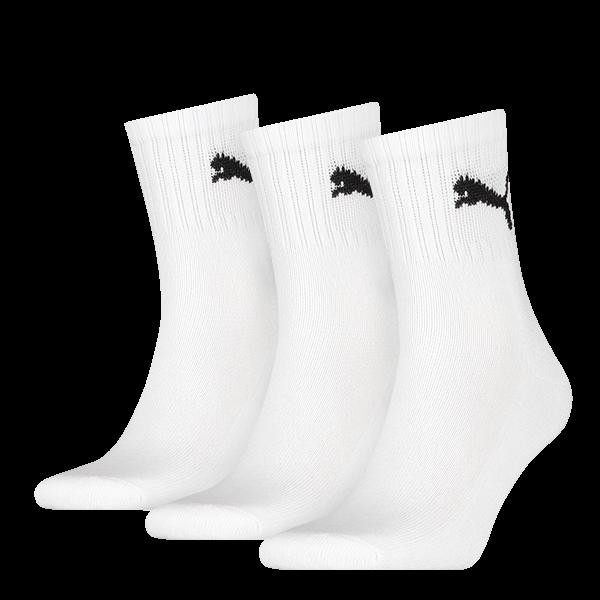 Puma sokken hoog wit 3-pack-39-42