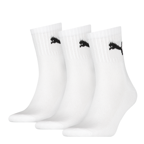 Puma sokken hoog wit 3-pack-43-46