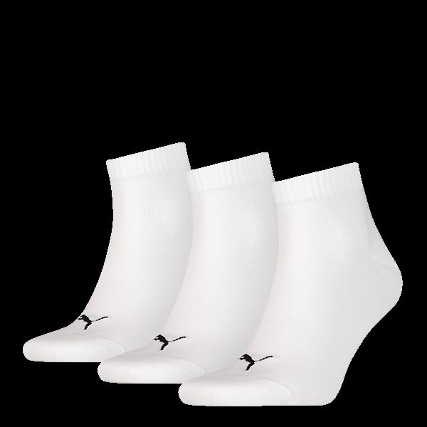 Puma sokken halfhoog wit 3-pack-35-38