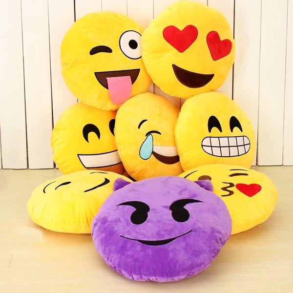 Emoji Smiley kussens