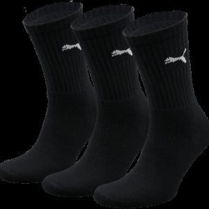 Puma sokken hoog zwart 3-pack-43-46