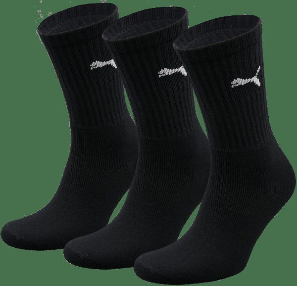 Puma sokken hoog zwart 3-pack-39-42