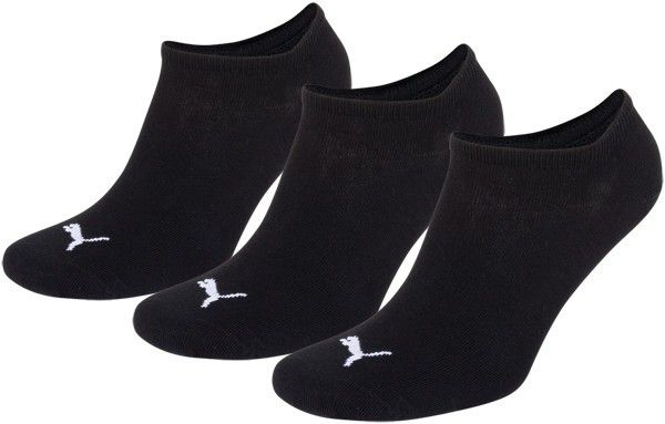 Puma sokken invisible zwart 3-pack-43-46