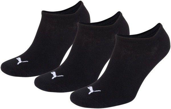 Puma sokken invisible zwart 3-pack-35-38