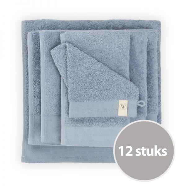 walra-washand-blue-12-stuks